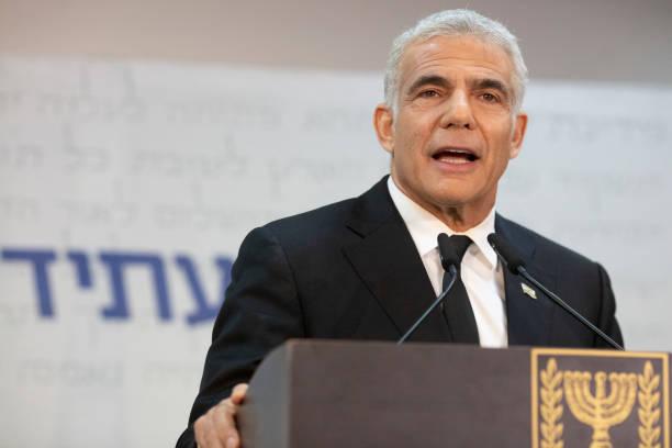 ISR: Yair Lapid Press Conference In Tel Aviv