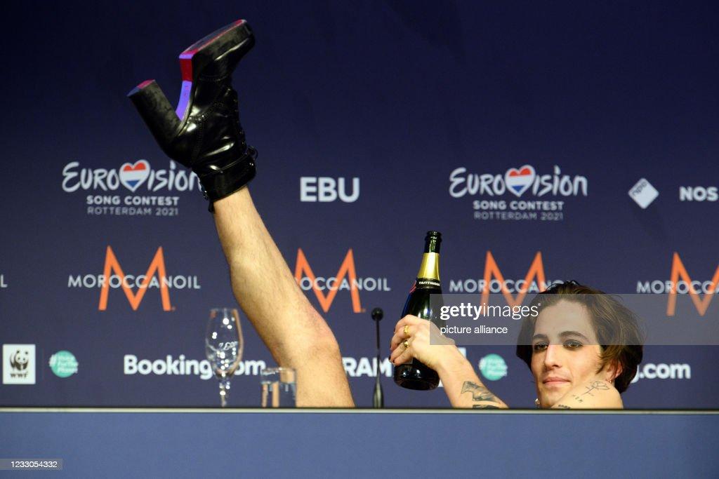 Eurovision Song Contest 2021 Rotterdam - Final : Foto di attualità