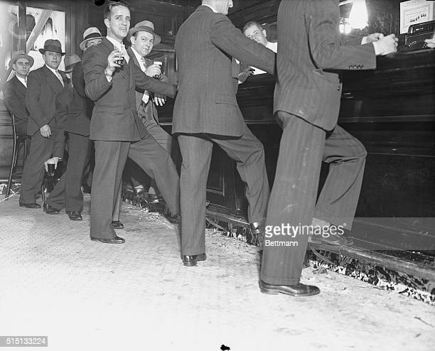 May 21 1934 New York Although official announcement had set no hour to mark the legality of drinking hard liquor at bars in New York State a canvass...