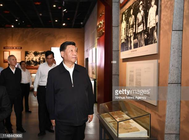 GANZHOU May 21 2019 Chinese President Xi Jinping also general secretary of the Communist Party of China Central Committee and chairman of the Central...