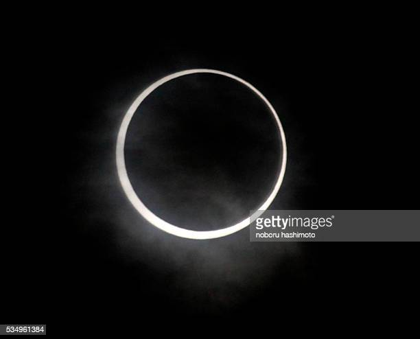 May 21/2012/Tokyo/Japan/ An annular solar eclipse was visible May 212012 morning in Tokyo Japan It was the first in 932 years to be visible over...