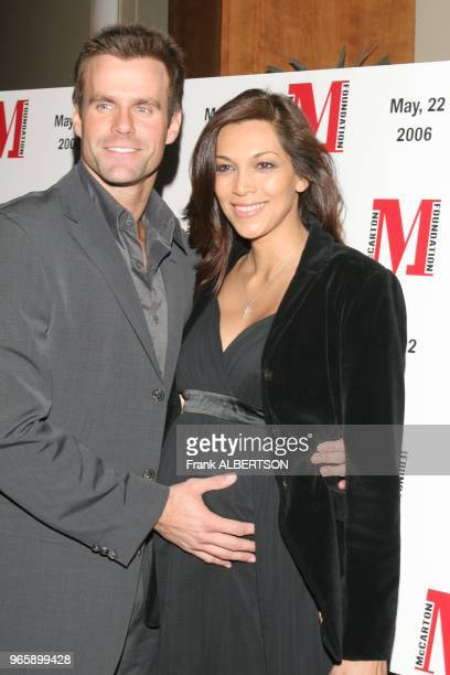 May 22 2006 New York NY Cameron Mathison and wife Vanessa at the McCarton Foundation Benefit Frank Albertson