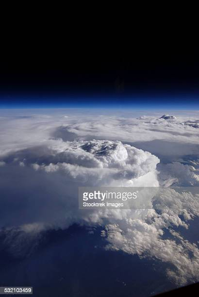 May 23, 2014 - View of a storm cell taken from a high-altitude ER-2 aircraft.