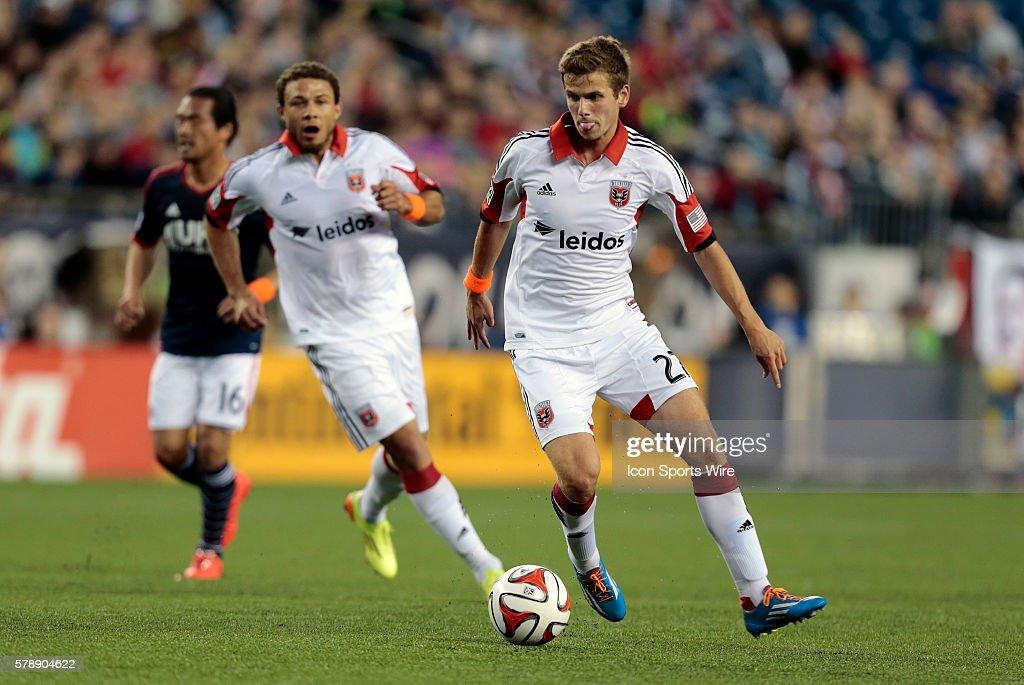 SOCCER: MAY 24 MLS - DC United at Revolution : News Photo