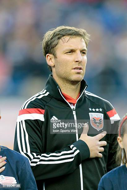 DC United's Jeff Parke The New England Revolution defeated DC United 21 in a regular season Major League Soccer match at Gillette Stadium in...