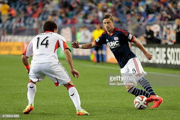 New England Revolution's Chris Tierney looks to get past DC United's Nick DeLeon The New England Revolution defeated DC United 21 in a regular season...
