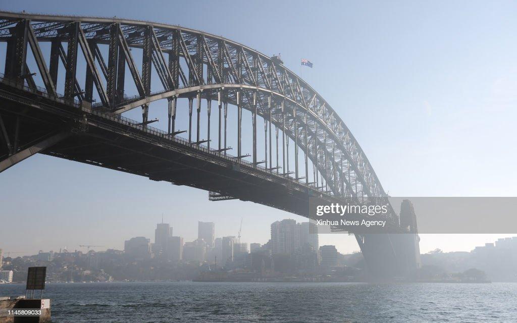 AUSTRALIA-SYDNEY-SMOG : News Photo
