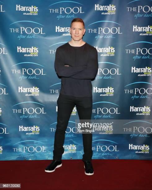Joseph Sikora hosts The Pool After Dark at Harrah's Resort on Friday May 25 2018 in Atlantic City New Jersey