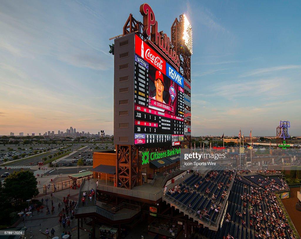 MLB: MAY 26 Rockies at Phillies : News Photo