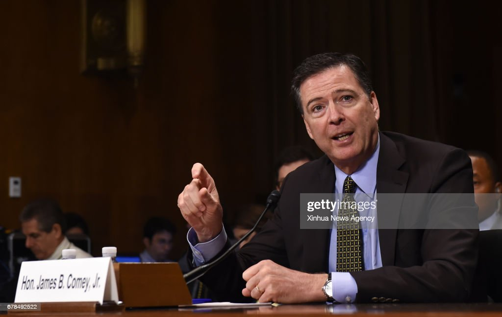U.S.-WASHINGTON D.C.-FBI-HEARING : News Photo