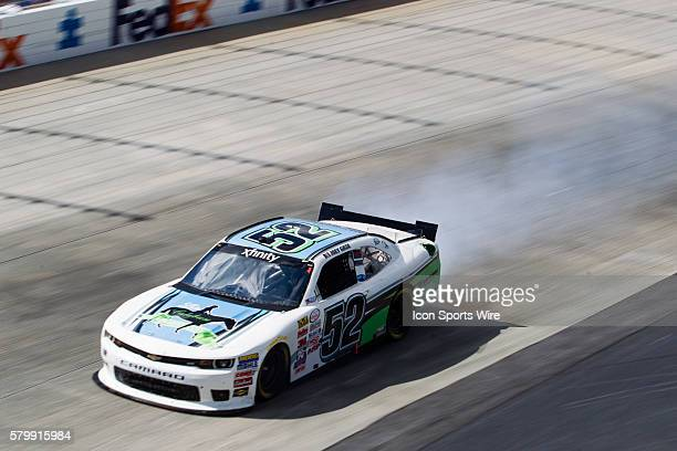 Joey Gase NASCAR XFINITY Series driver of the Donate Life Chevrolet during the Buckle Up 200 at Dover International Speedway in Dover DE