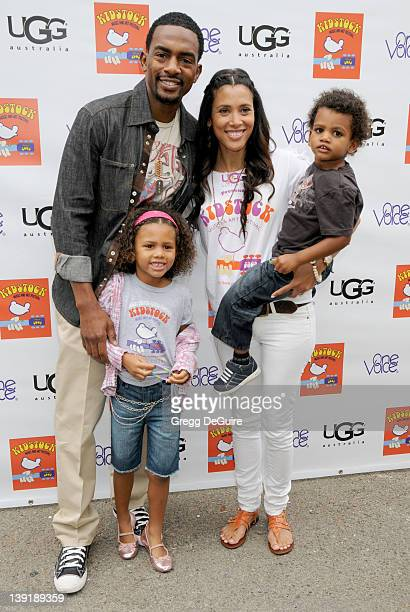May 31 2009 Beverly Hills Ca Bill Bellamy wife Kristen Baker and children 3rd Annual Kidstock Music and Arts Festival Held at Greystone Mansion