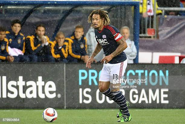 New England Revolution midfielder Jermaine Jones looks for help. The New England Revolution and the Los Angeles Galaxy played to a 2-2 draw in a...