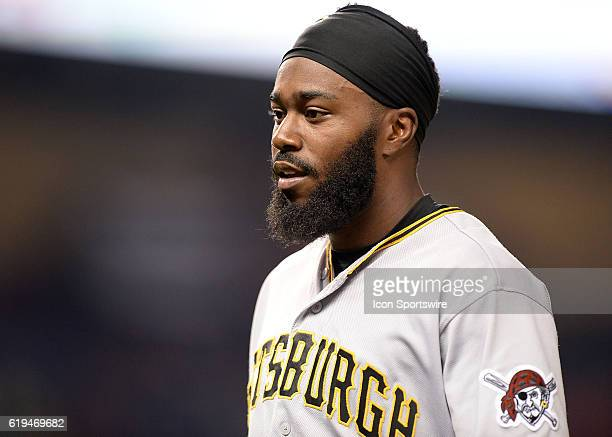May 31 2016 Pittsburgh Pirates second baseman Josh Harrison during a game between the Miami Marlins and the Pittsburgh Pirates at Marlins Park in...