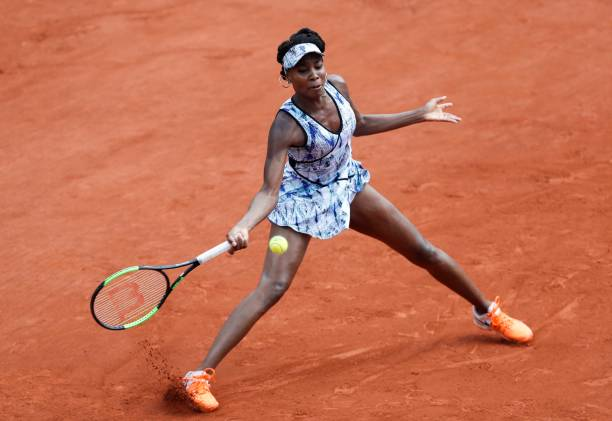 Image result for french open women's singles Venus williams