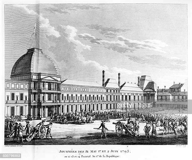 May 31st 1st and 2nd of June of 1793 in France Fight in front of the Tuileries Palace The Girondists are ousted from the National Convention by the...