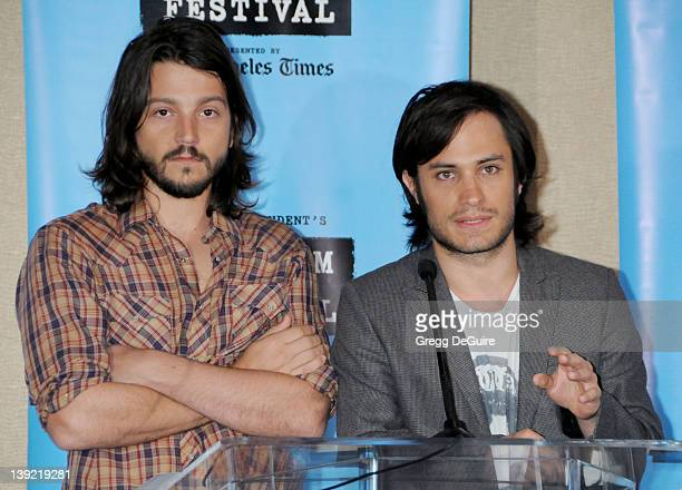 May 5 2009 Westwood Ca Diego Luna and Gael Garcia Bernal 2009 Los Angeles Film Festival Announcement Held at Hotel Palomar