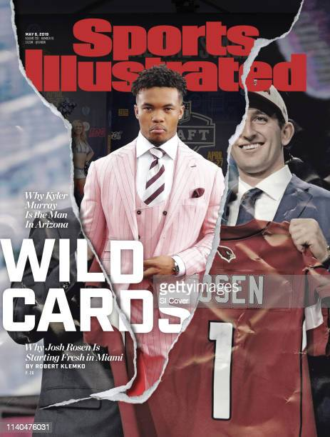 May 6 2019 Sports Illustrated via Getty Images Cover NFL Draft Portrait of former Oklahoma QB and Arizona Cardinals No 1 overall pick Kyler Murray on...