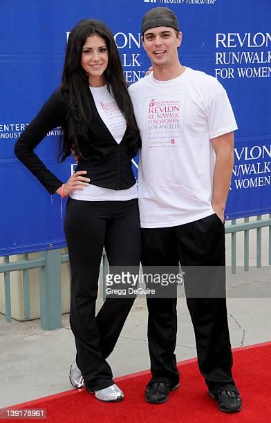 May 9, 2009 Los Angeles, Ca.; Darin Brooks and Hope Dworaczyk; 16th Annual EIF Revlon Run/Walk For Women; Held at the Los Angeles Memorial Coliseum