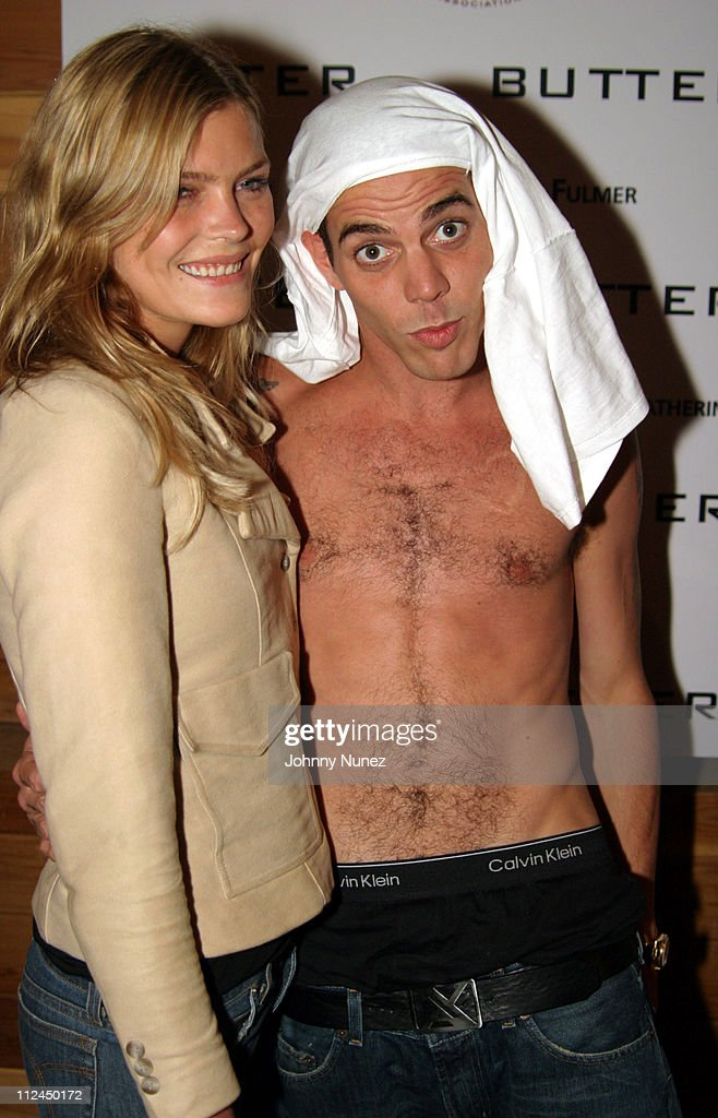 May Andersen and Steve O during Butter's Two Year Anniversary at Butter in New York City, New York, United States.