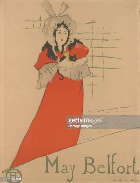 May Belfort 1895 Artist Henri de ToulouseLautrec