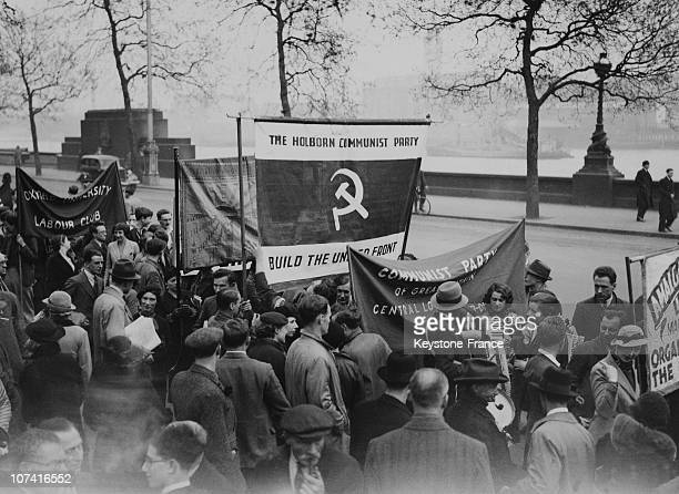 May Day Communist Demonstration In Hyde Park In London On May 1St 1936