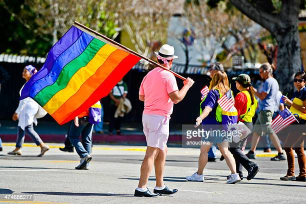 may day march in los angeles downtown, usa - may day international workers day stock pictures, royalty-free photos & images