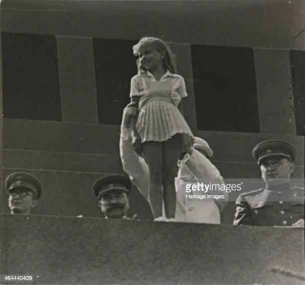 May Day on Lenin's Mausoleum Tribune.
