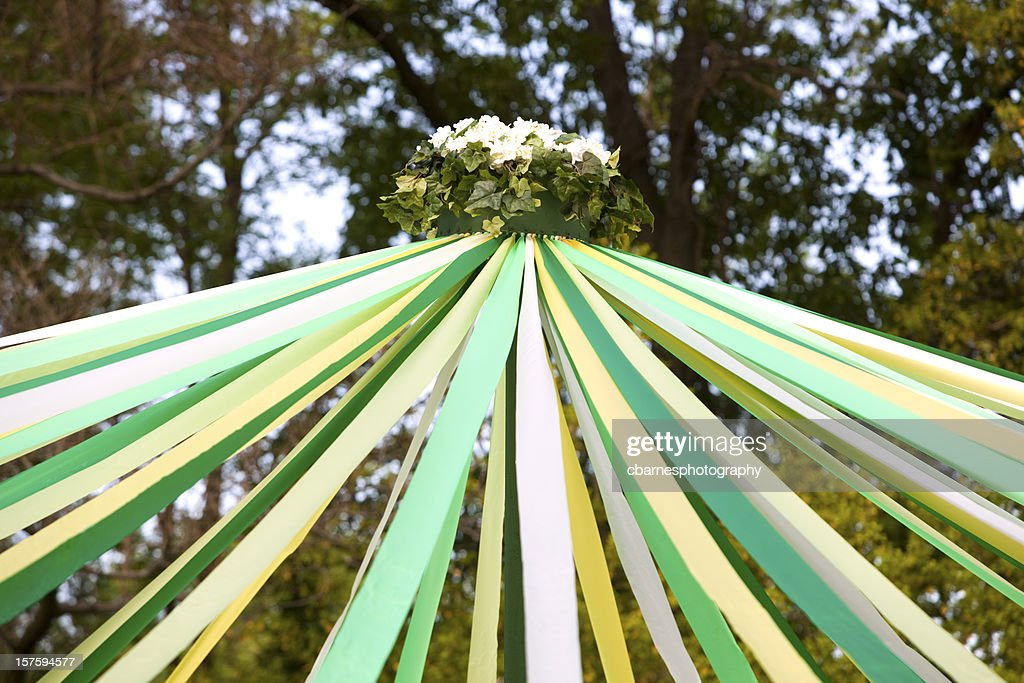May Day Pole : Stock Photo