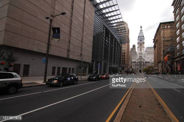 May Day Protesters strike forming a caravan through Center City stopping in front of Hanamann Hospital City Hall the School Board and Convention...