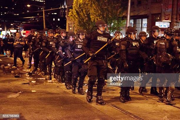 may day protests - washington state stock pictures, royalty-free photos & images