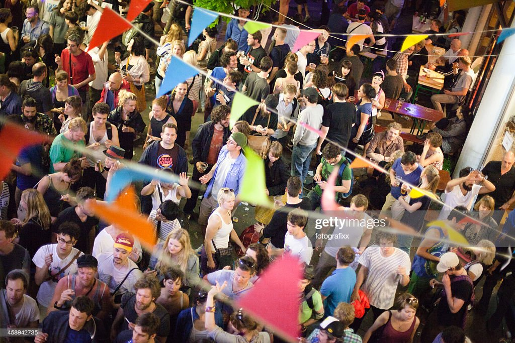 May day street party : Stock Photo