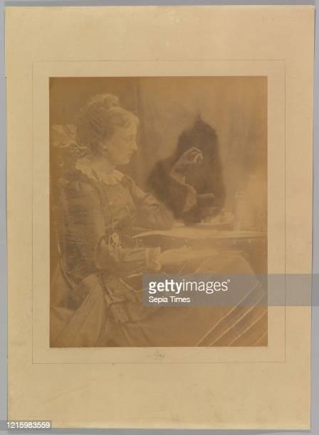 May. Freshwater. 1870. Albumen silver print from glass negative. Photographs. Julia Margaret Cameron .