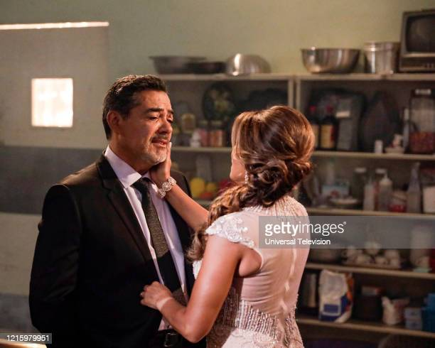 "May I Have This Dance?"" Episode 108 -- Pictured: Carlos Gomez as Rafael Garcia, Lisa Vidal as Mari Garcia --"