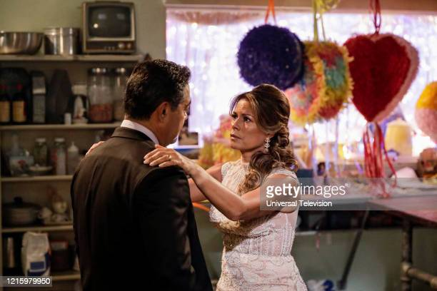 "May I Have This Dance?"" Episode 108 -- Pictured: Lisa Vidal as Mari Garcia --"