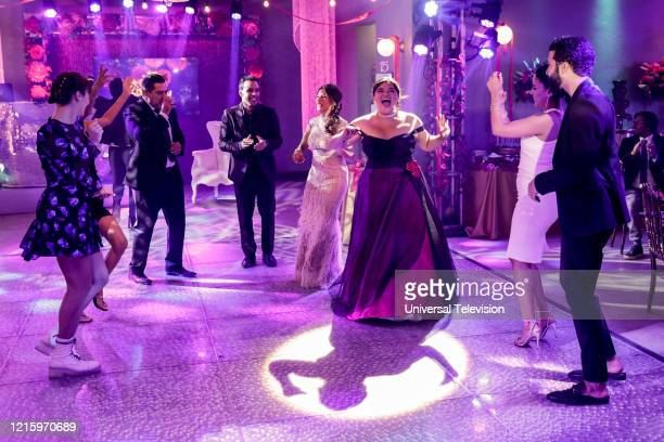 "May I Have This Dance?"" Episode 108 -- Pictured: Madelyn Sher as Amy, Carlos Gomez as Rafael Garcia, Victor Rasuk as Daniel Garcia, Lisa Vidal as..."