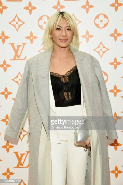 May Kwok attends the Louis Vuitton X Grace Coddington Event on October 25 2018 in New York City
