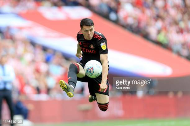 May Lewis Morgan of Sunderland during the Sky Bet League 1 Play off Final between Charlton Athletic and Sunderland at Wembley Stadium, London on...