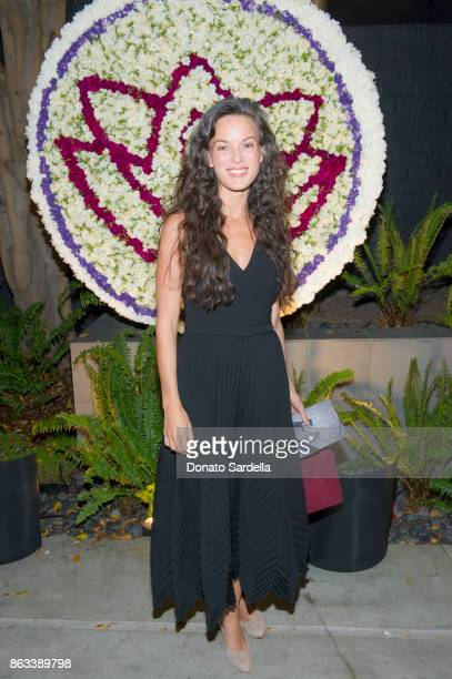 May Lindstrom at Living Beauty 'The Gift' Photo Exhibit at The Buterbaugh Gallery on October 19 2017 in Los Angeles California