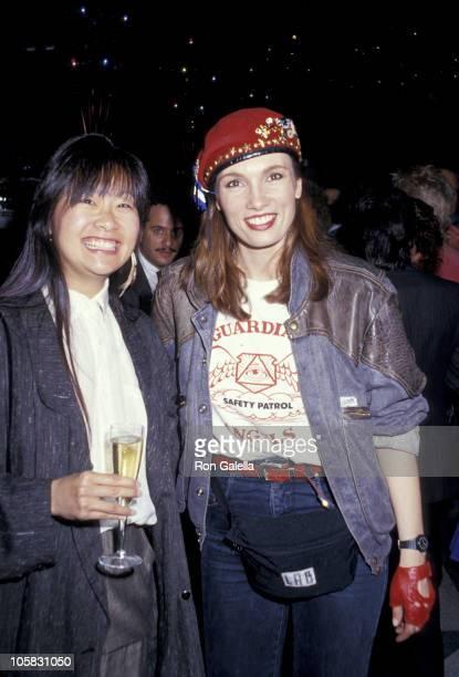 May Pang and Lisa Sliwa during Lisa Sliwa At Stringfellow's at Stringfellow's in New York City New York United States