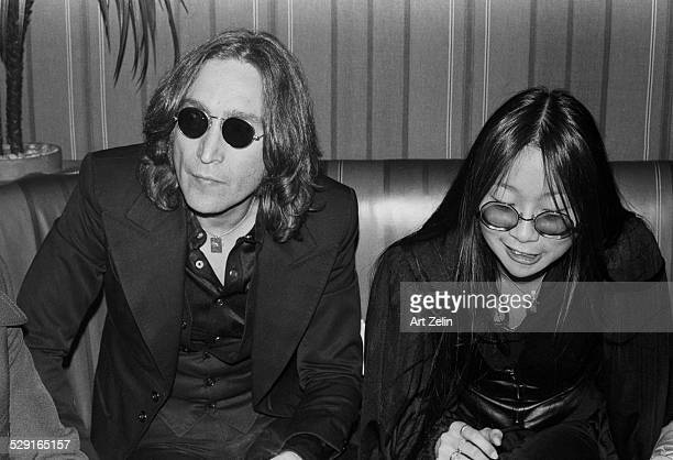 May Pang John Lennon at the Beacon Theatre circa 1970 New York