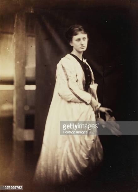 May Prinsep, 1868. Artist Julia Margaret Cameron.