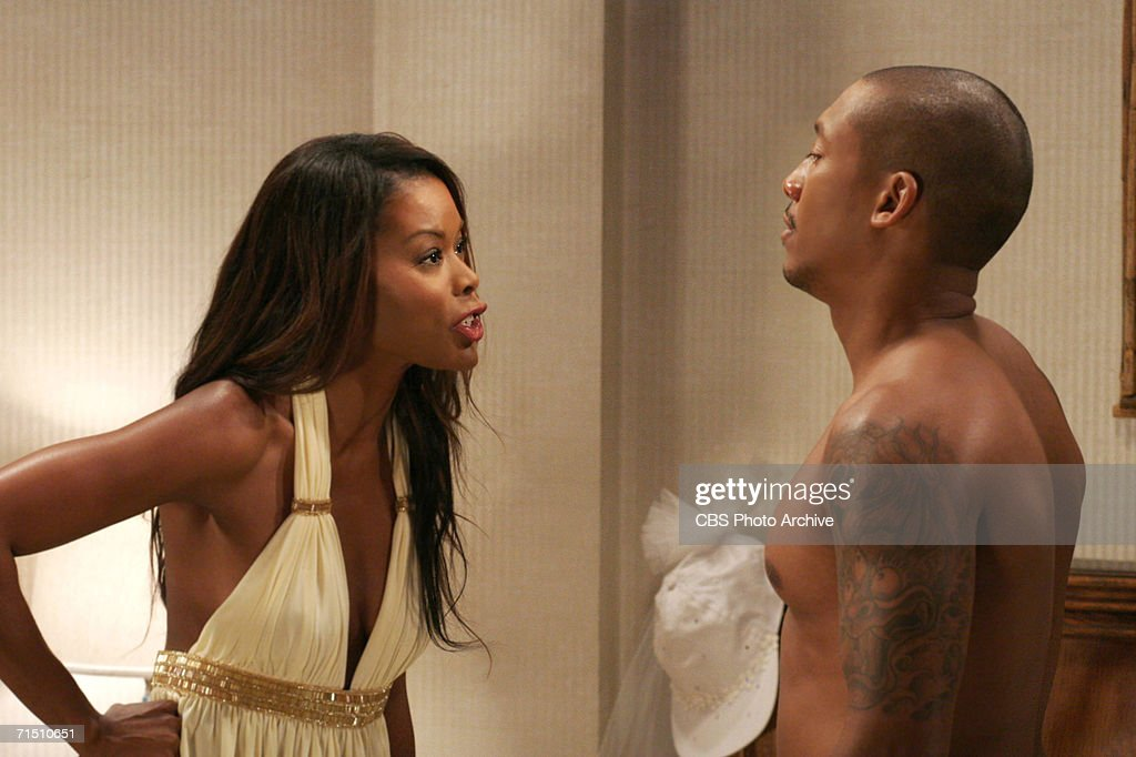 Maya argues with Darnell in GIRLFRIENDS on The CW. Season ...  Khalil Kain Wife