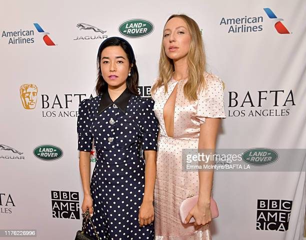 Maya Erskine and Anna Konkle attend the BAFTA Los Angeles BBC America TV Tea Party 2019 at The Beverly Hilton Hotel on September 21 2019 in Beverly...