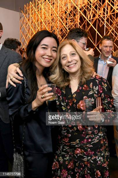 Maya Erskine and Debbie Lieberg attend the Plus One Premiere After Party at the Bulleit 3D printed Frontier Lounge during Tribeca Film Festival on...