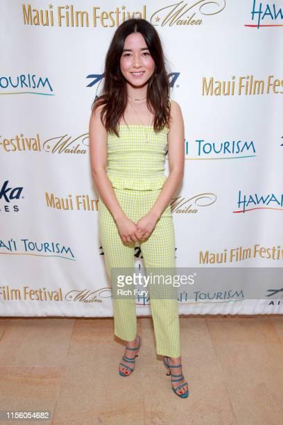 Maya Erskine attends the 2019 Maui Film Festival on on June 14 2019 in Wailea Hawaii
