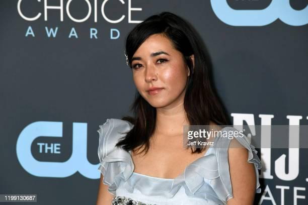 Maya Erskine attends the 25th Annual Critics' Choice Awards at Barker Hangar on January 12 2020 in Santa Monica California