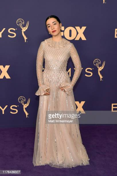 Maya Erskine attends the 71st Emmy Awards at Microsoft Theater on September 22 2019 in Los Angeles California