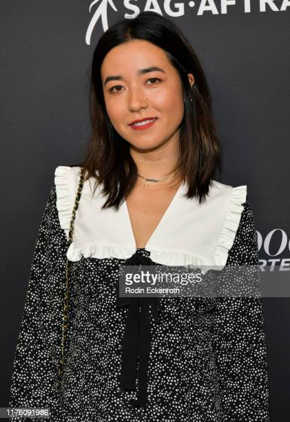 Maya Erskine attends The Hollywood Reporter and SAGAFTRA Celebrate Emmy Award Contenders at Annual Nominees Night on September 20 2019 in Beverly...