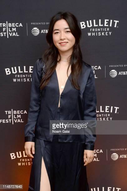Maya Erskine attends the Plus One Premiere After Party at the Bulleit 3D printed Frontier Lounge during Tribeca Film Festival on April 28 2019 in New...